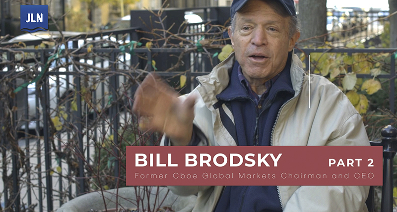 Bill Brodsky – The Path to Electronic Trading, Part 2