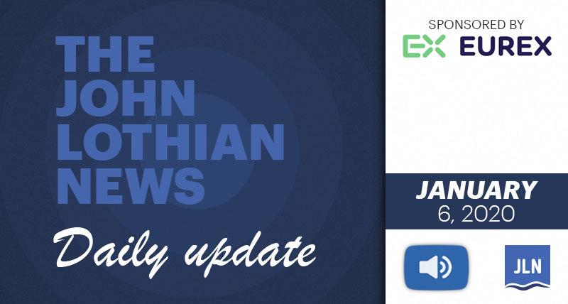 THE JOHN LOTHIAN NEWS DAILY UPDATE – 1/06/2021