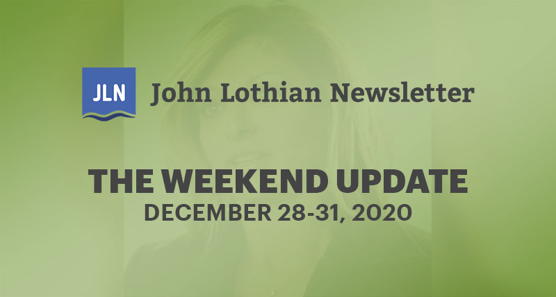 THE WEEKEND UPDATE: DECEMBER 28-31, 2020