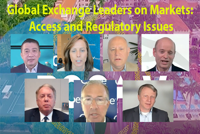 FIA Boca-V: Global Exchange Leaders on Markets: Access and Regulatory Issues