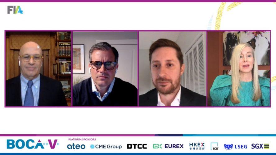 cryptocurrency, Christopher Giancarlo, Zac Prince, Tim Jessop, Colleen Sullivan, FIA Boca 2021,