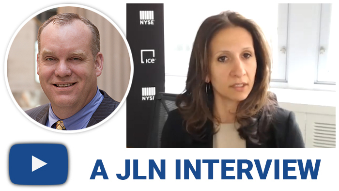 Intercontinental Exchange's  Lynn Martin Walks JLN Through New ICE Portfolio Auction Platform
