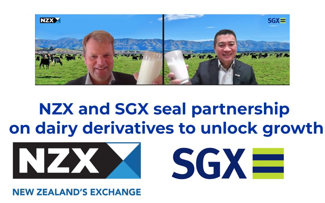 SGX and NZX seal partnership on dairy derivatives to unlock growth