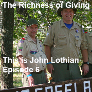The Richness of Giving – A John Lothian Commentary from 2012 – This is John Lothian