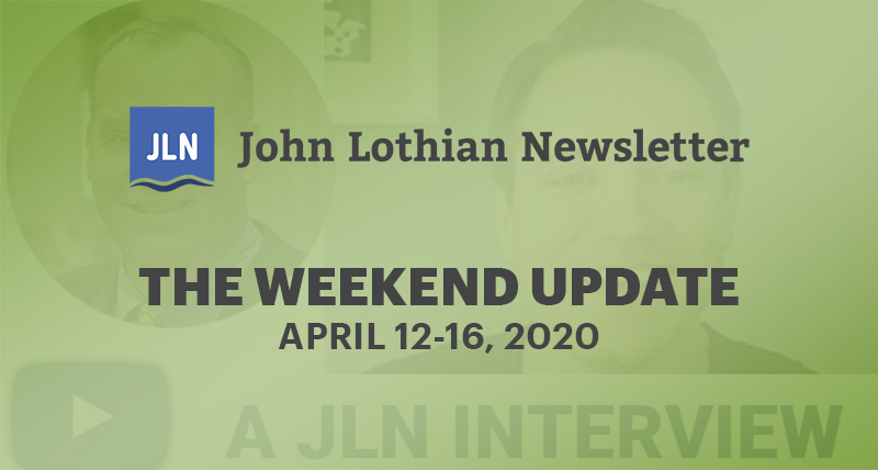 THE WEEKEND UPDATE: APRIL 12-16 2021