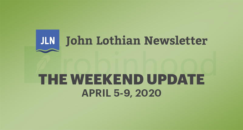 THE WEEKEND UPDATE: APRIL 5-9 2021