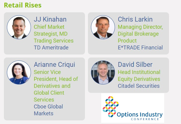 OIC 2021: Industry Experts Explain the Rise of Retail Options Trading