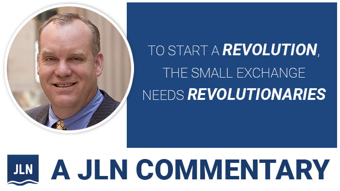 To Start a Revolution, the Small Exchange Needs Revolutionaries