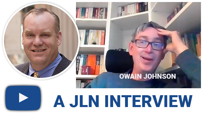 Owain Johnson: World-Class Listener,  Citizen, Author and Researcher, Sees Acceleration of Economic Change