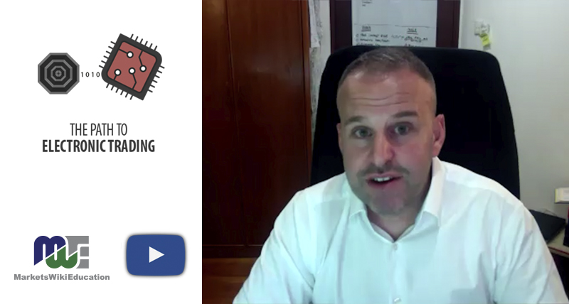 Robin Trott – The Path to Electronic Trading Part One