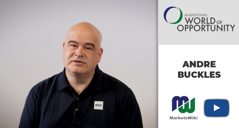 Andre Buckles: Working From Home – MWE World of Opportunity