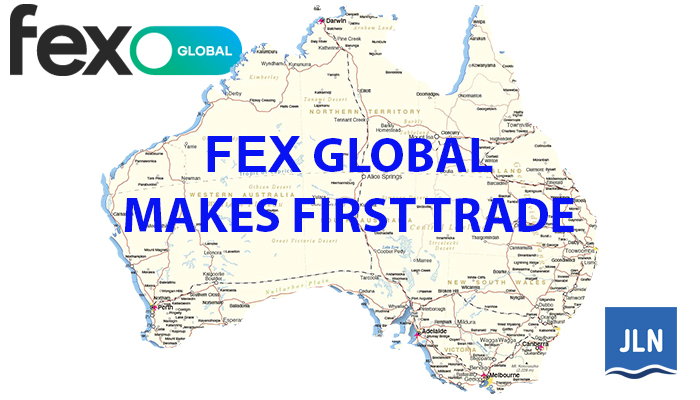 FEX Global Makes Its First Trade