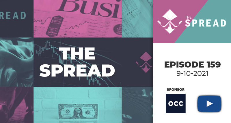GameStop disappoints; Coinbase gets into it with the SEC; Cboe offers Europe options; MIAX Spikes a record; John's Take on CBOE's Phil Slocum's passing and a great moment in options history; and how to execute a strangle  — The Spread — September 10, 2021
